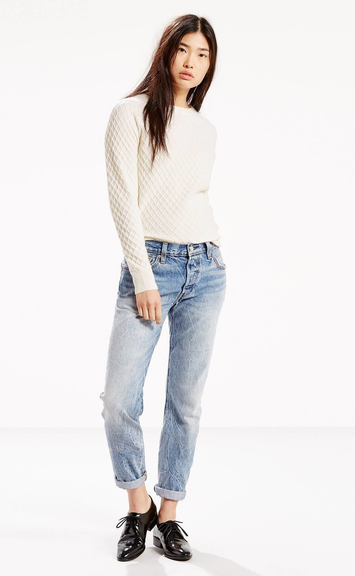 Blue Jeans Skinny Style